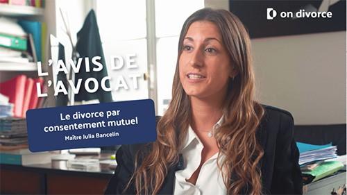 Vidéo avocate sur le divoce par consentement mutuel