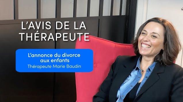 marie baudin annonce divorce enfants